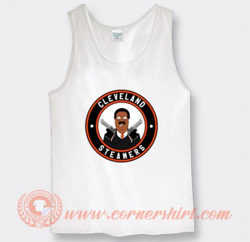 Cleveland Steamers Mafia and Guns Tank Top