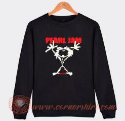 Alive Stickman Pearl Jam Sweatshirt