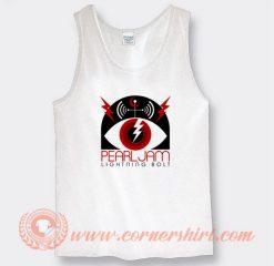 Pearl Jam Lightning Bolt Album Tank Top
