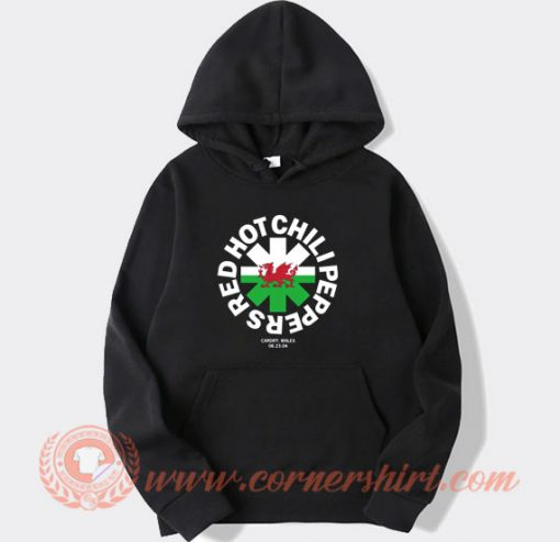 Red Hot Chili Peppers Cardiff Wales Hoodie