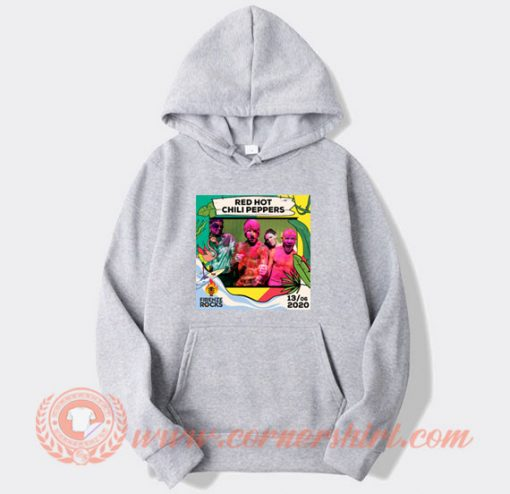 Red Hot Chili Peppers Firenze Rocks Hoodie