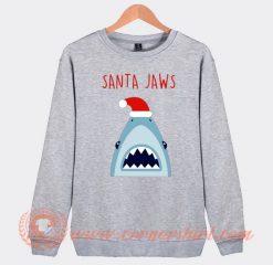 Santa Jaws Christmas Sweatshirt