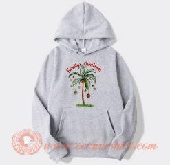 Tropical Christmas For Family Christmas Gifts Hoodie