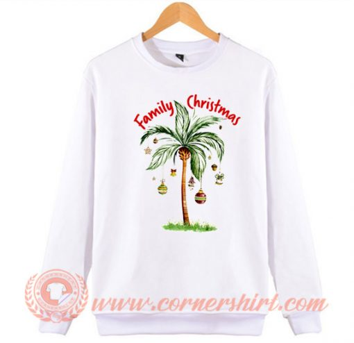 Tropical Christmas For Family Christmas Gifts Sweatshirt