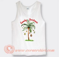 Tropical Christmas For Family Christmas Gifts Tank Top