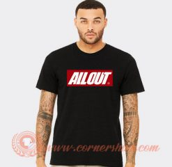 All Out Louis Tomlinson T-shirt On Sale
