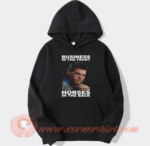 Vintage Billy Ray Cyrus Business in The Front Hoodie