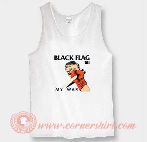 Black Flag My War Album Tank Top