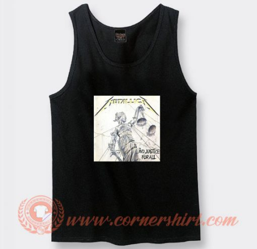 Metallica And Justice For All Tank Top On Sale