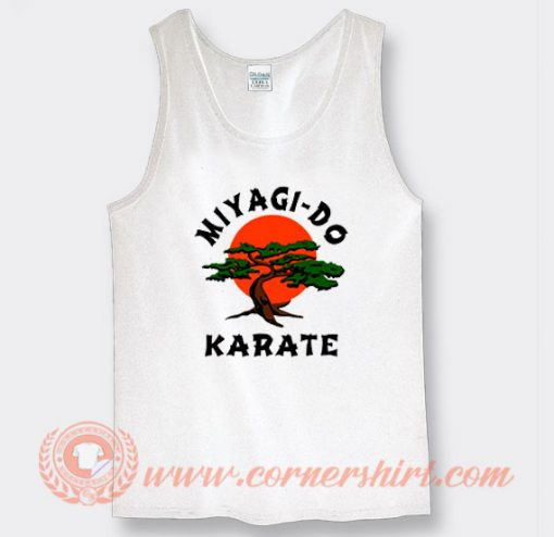 Miyagi Do Karate Kid Tank Top