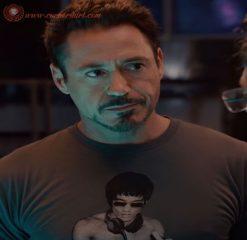 Robert Downey Jr Bruce Lee Dj T-shirt On Sale