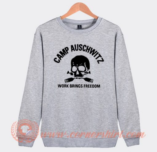 Camp Auschwitz Sweatshirt On Sale