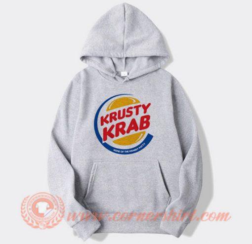 Krusty Krab Pizza X Burger King Hoodie On Sale