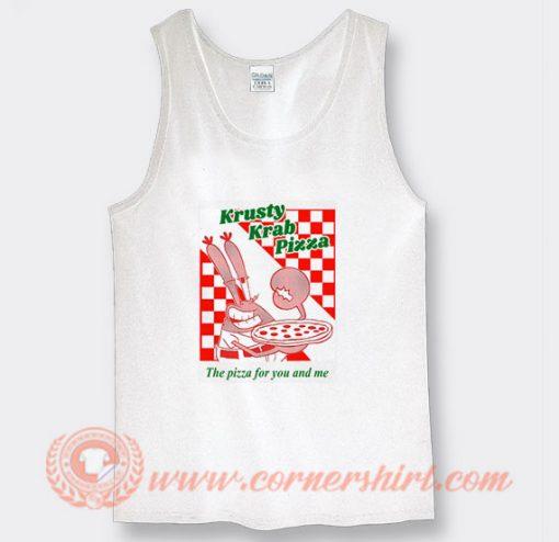 Krusty Krab Pizza Tank Top On Sale