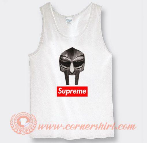 Mf Doom Mask X Supreme Parody Tank Top