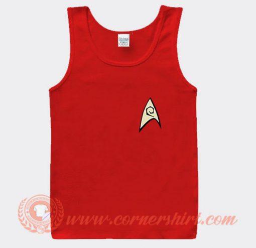 Star Trek Red Shirt Logo Tank Top On Sale