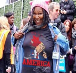 Whoopi Goldberg Trump Make America Great Again T-shirt