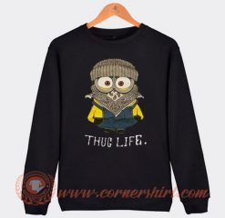 Whoopi Goldberg Minion Thug Life Sweatshirt On Sale