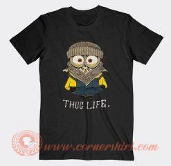 Whoopi Goldberg Minion Thug Life T-shirt On Sale