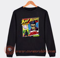 Wwe Bad Bunny Royal Rumble Sweatshirt On Sale