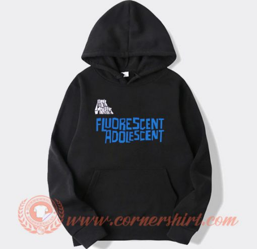 Arctic Monkeys Fluorescent Adolescent Hoodie On Sale