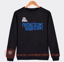 Arctic Monkeys Fluorescent Adolescent Sweatshirt On Sale