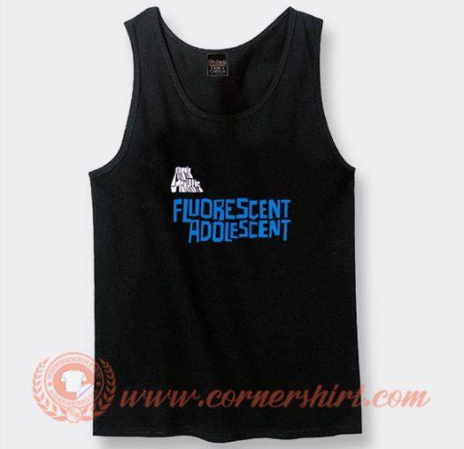 Arctic Monkeys Fluorescent Adolescent Tank Top On Sale