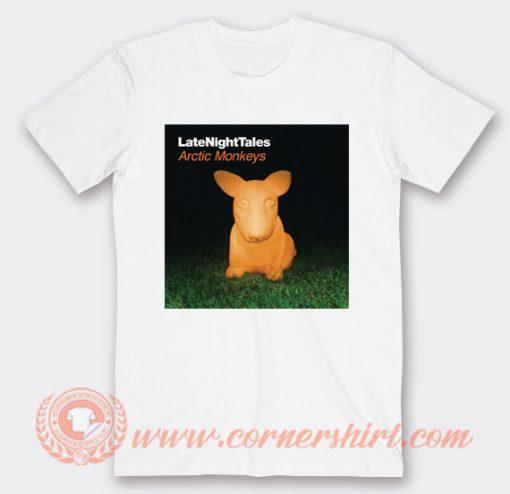 Arctic Monkeys Last Night Tales T-shirt