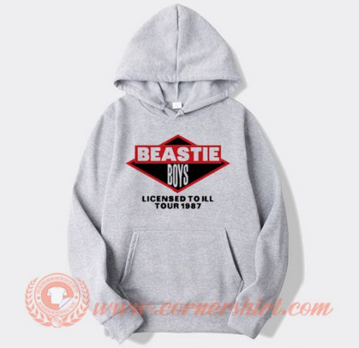 Beastie Boys Licenced To Ill Tour 1987 Hoodie