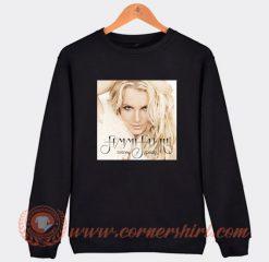 Britney Spears Femme Fatale Sweatshirt On Sale