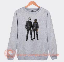 Daft Punk All Figures Sweatshirt