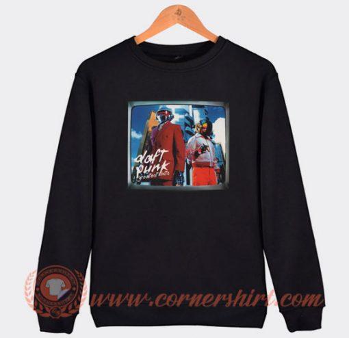Daft Punk Greatest Hits Sweatshirt