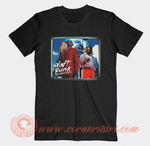 Daft Punk Greatest Hits Cover T-shirt On Sale