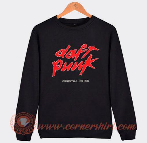 Daft Punk Musique Vol 1 1993 Sweatshirt