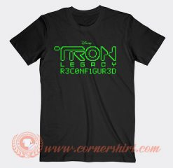 Daft Punk Tron Legacy Reconfigured T-shirt On Sale