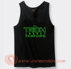 Daft Punk Tron Legacy Reconfigured Tank Top