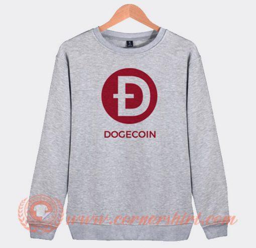 Doge Coin Logo Sweatshirt