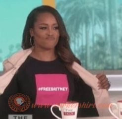 Eve Wears Free Britney T-shirt On Sale