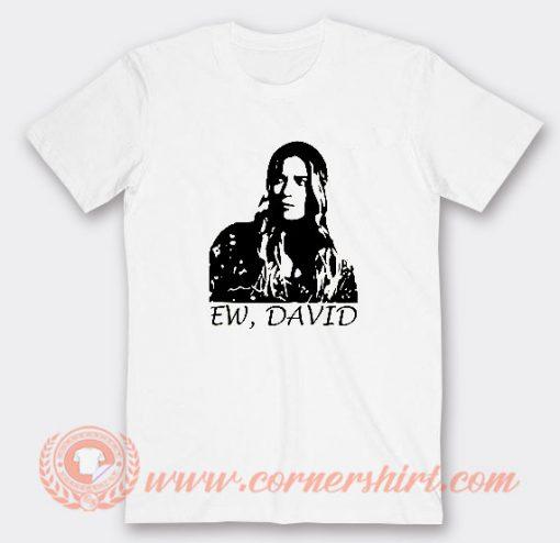 Alexis Ew David T-shirt On Sale