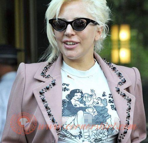 Lady Gaga Disney Shirt Snow White and The Sir Punks T-shirt