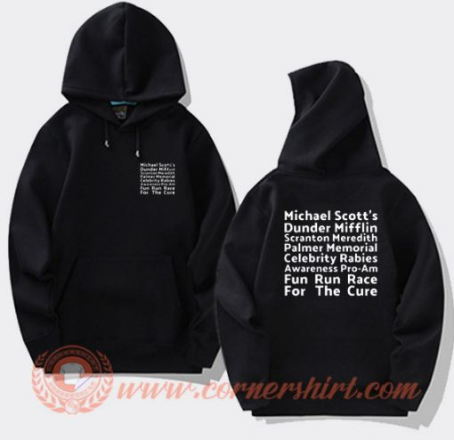 Michael Scott Fun Run Race Hoodie On Sale