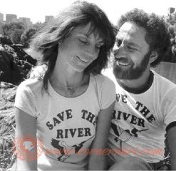 Save The River Abbie Hoffman T-shirt On Sale