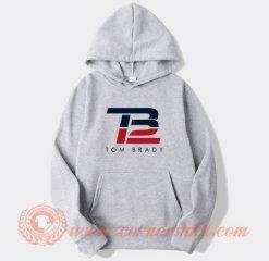 TB12 Tom Brady Logo Hoodie On Sale