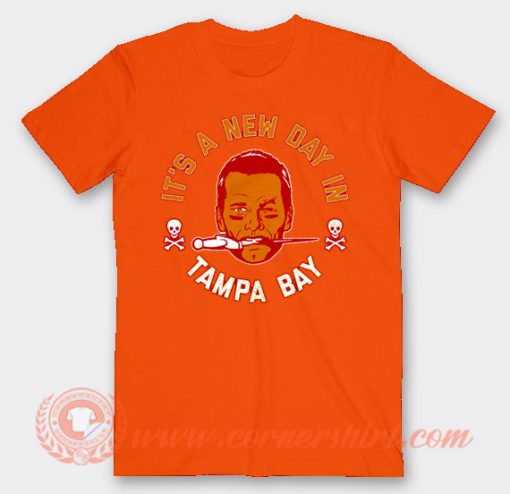 Tom Brady Shirt Its a Good Day In Tampa Bay T-shirt