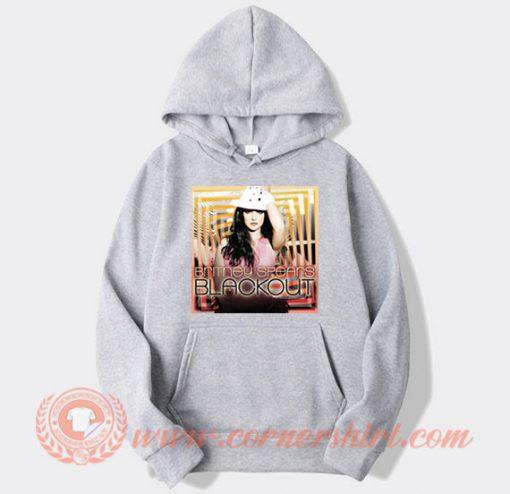 Vintage Britney Spears Blackout Hoodie On Sale