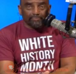 White History Month T-shirt On Sale