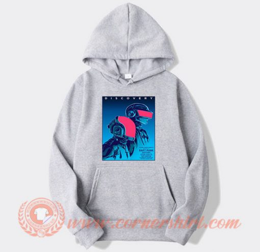 Daft Punk Discovery Album Cover Hoodie