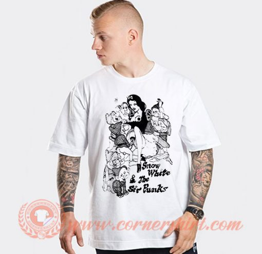 Snow White and The Sir Punks T-shirt On Sale