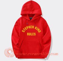 Stephen King Rules Hoodie On Sale