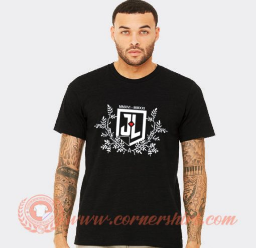 Zack Snyder Justice League T-shirt On Sale